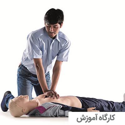 کارگاه آموزش CPR در بزرگسالان