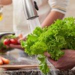 بهترین روش شستشوی میوه و سبزیجات