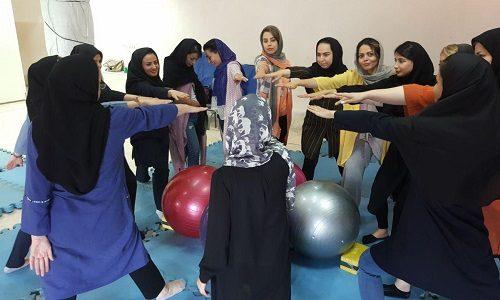 سومین کارگاه آموزش یوگای بارداری