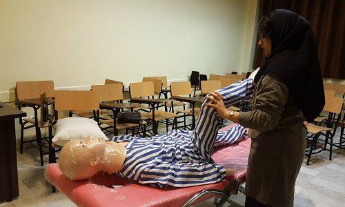 سومین کارگاه آموزش ماساژ بارداری