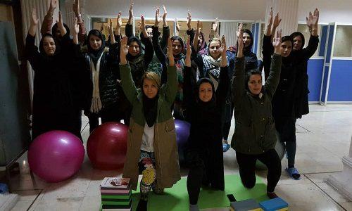 نهمین کارگاه آموزشی یوگای بارداری و زایمان