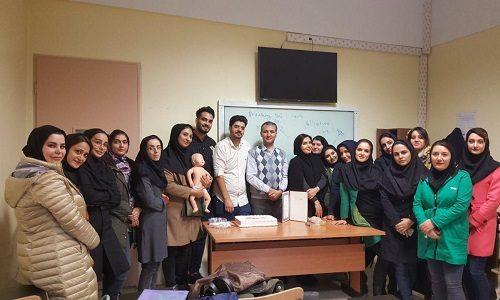 کارگاه آموزشی احیاء نوزاد (NRP)